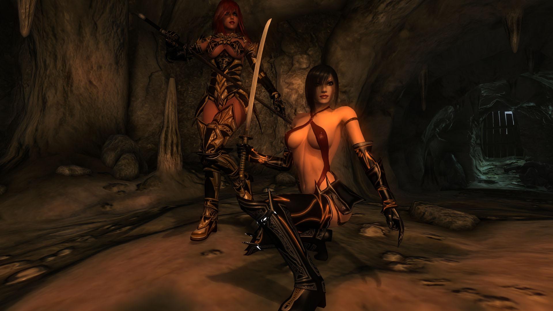 Обливион мод секс